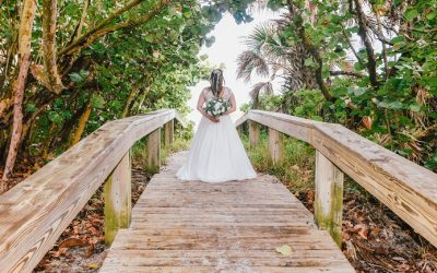 Unique Wedding Ceremony in Cocoa Beach