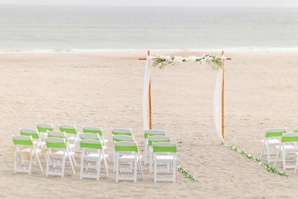 Nautical Knot wedding package in Jacksonville Beach, FL