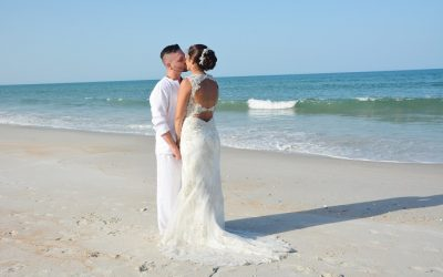 Break Away To A Butler Beach Wedding