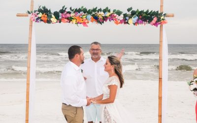 Kristi and Blake's Fort Walton Beach Wedding