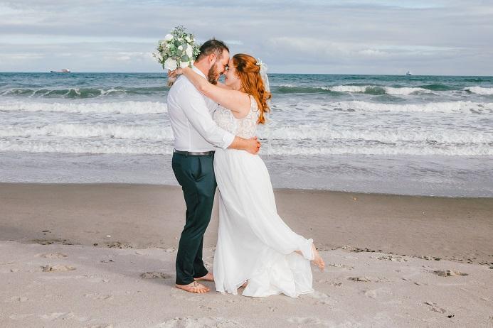 Barefoot Cocoa Beach Wedding