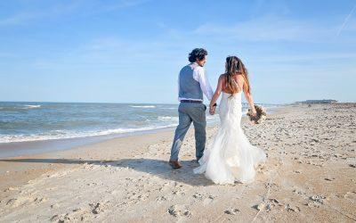 Spring St. Augustine Beach Wedding