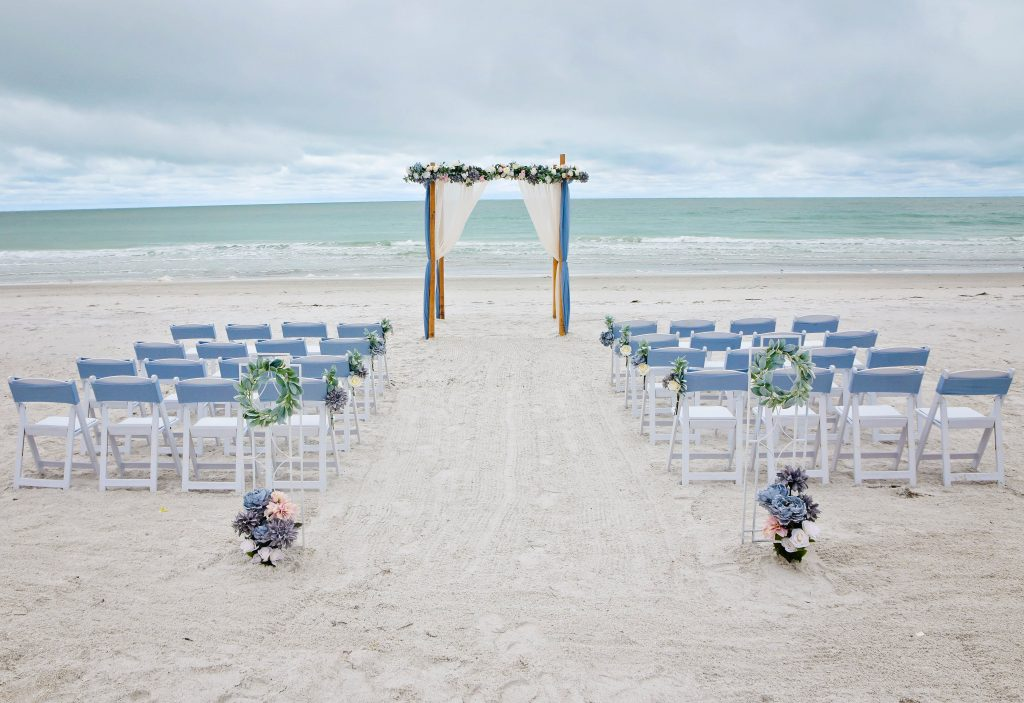 Dusty Blue Distinctive Design Wedding Package